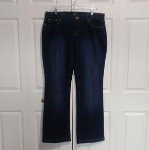 daisy fuentes moda bootcut jeans